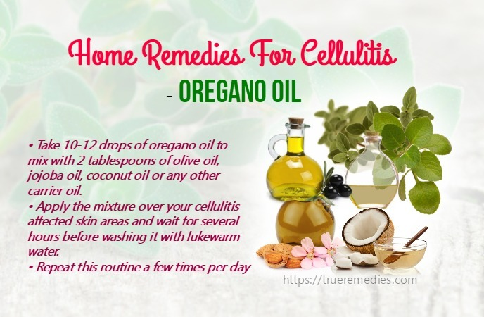 home remedies for cellulitis - oregano oil