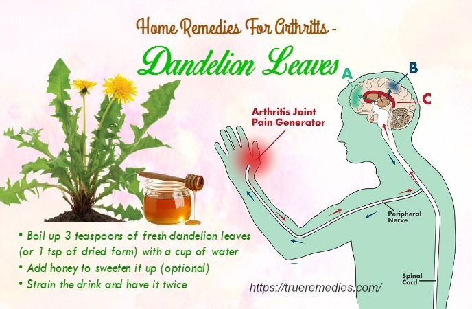 home remedies for arthritis - dandelion leaves