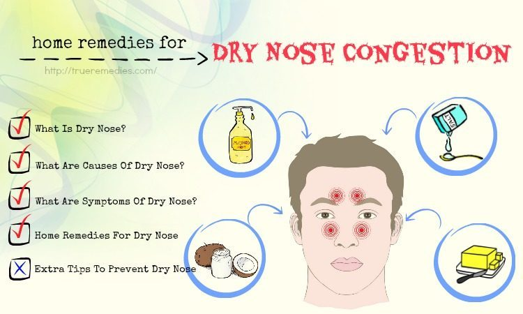 home remedies for dry nose