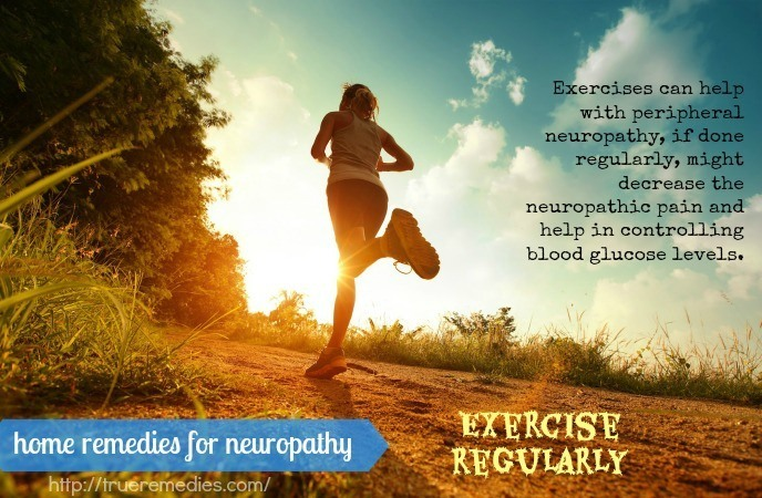 home remedies for neuropathy -exercise