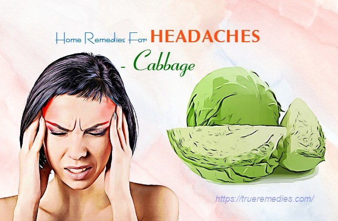home remedies for headaches - cabbage