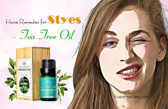 home remedies for styes - tea tree oil