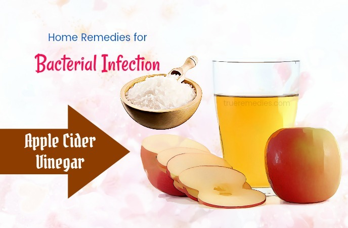 home remedies for bacterial infection - apple cider vinegar
