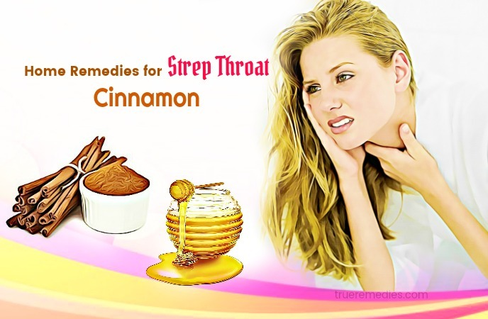 home remedies for strep throat - cinnamon