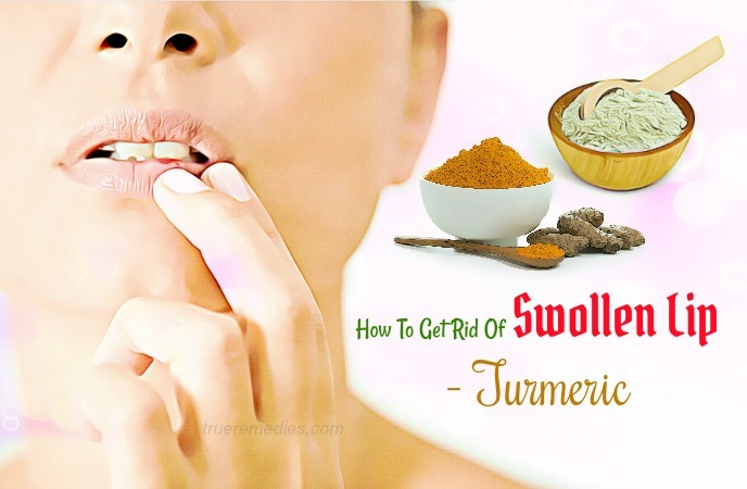 how to get rid of swollen lip