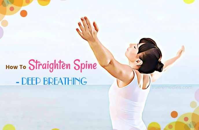 how to straighten spine
