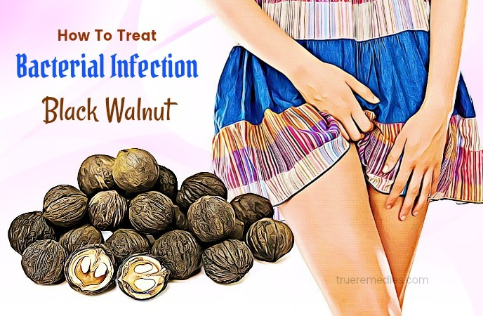 how to treat bacterial infection - black walnut
