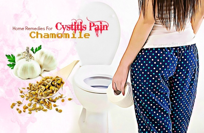 home remedies for cystitis - chamomile
