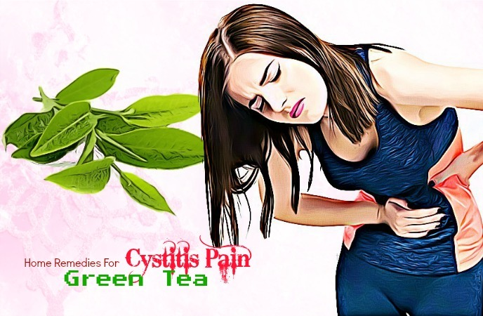 home remedies for cystitis - green tea