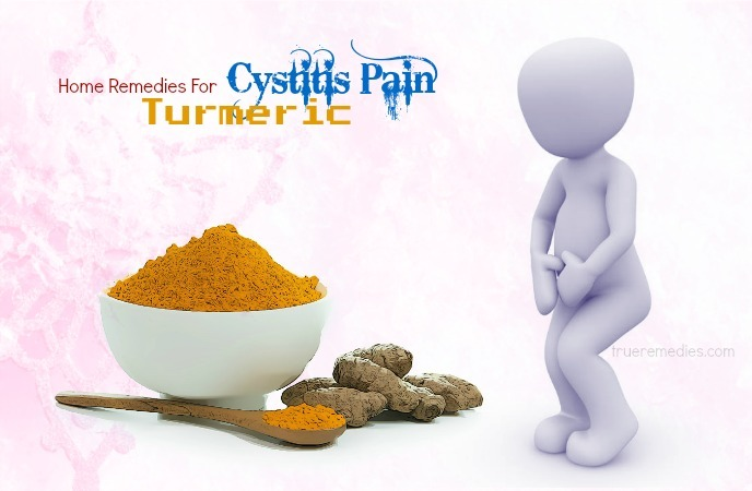home remedies for cystitis - turmeric