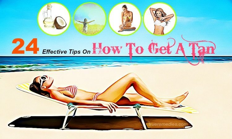 how to get a tan