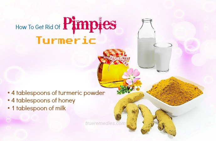 how to get rid of pimples