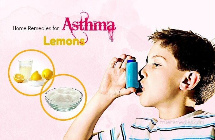 home remedies for asthma - lemons