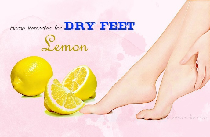home remedies for dry feet