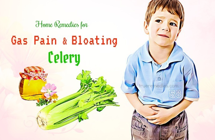 home remedies for gas pain and bloating