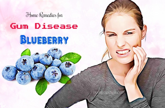 home remedies for gum disease - blueberry