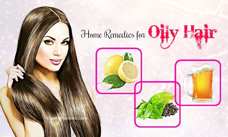 home remedies for oily hair