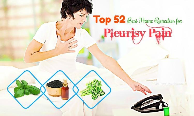 home remedies for pleurisy