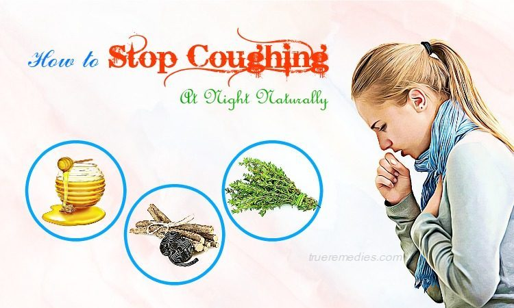 how to stop coughing
