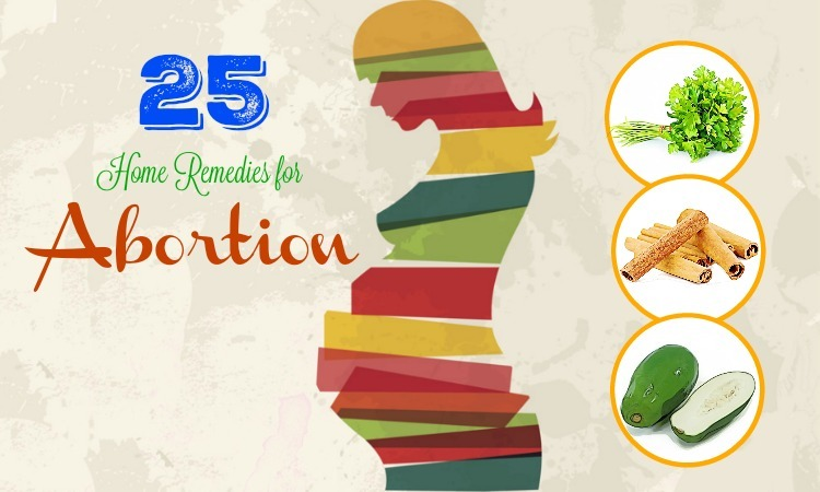 Home remedy abortion