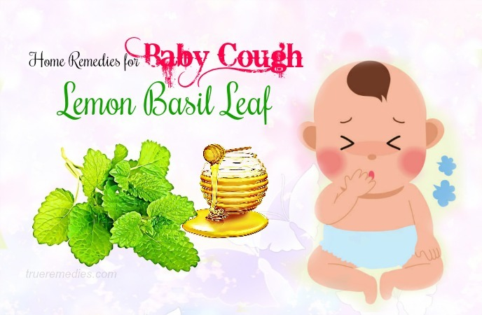 home remedies for baby cough