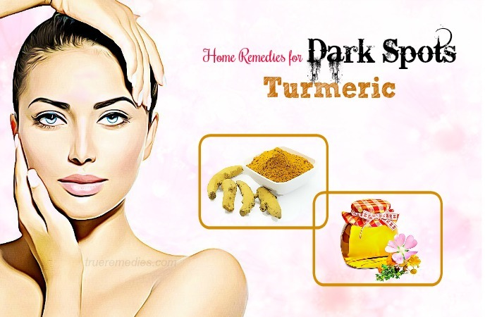 home remedies for dark spots - turmeric