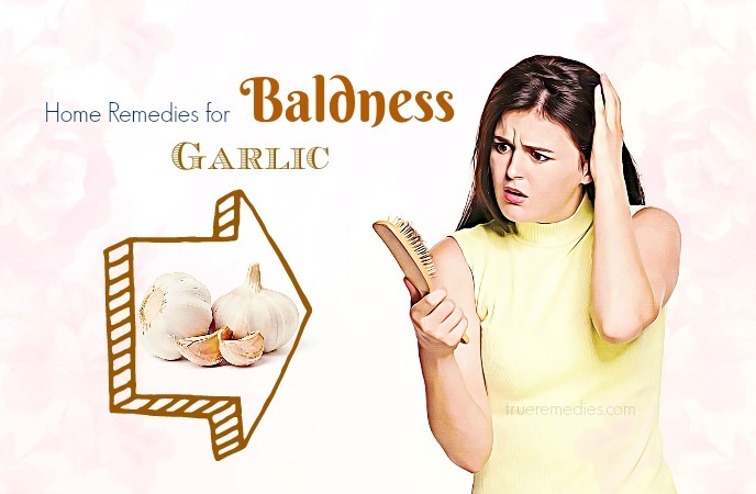 home remedies for baldness - garlic