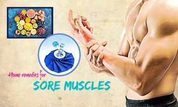 home remedies for sore muscles