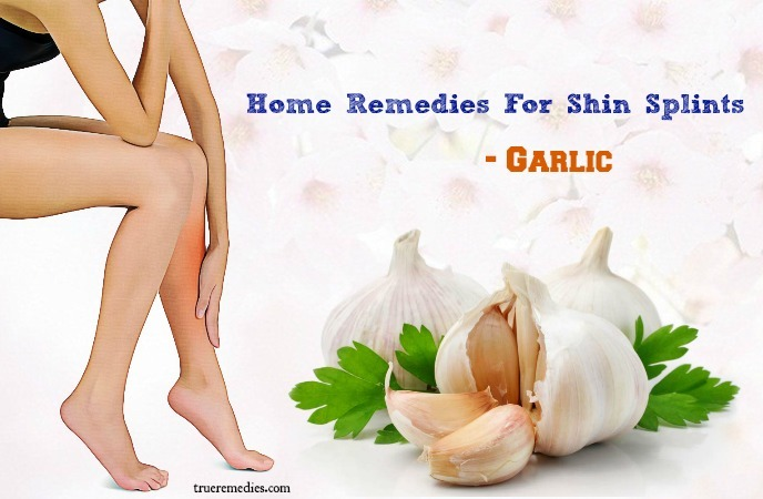 home remedies for shin splints - garlic