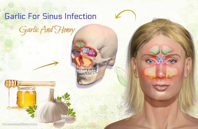 garlic for sinus infection - garlic and honey