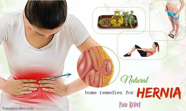 home remedies for hernia pain