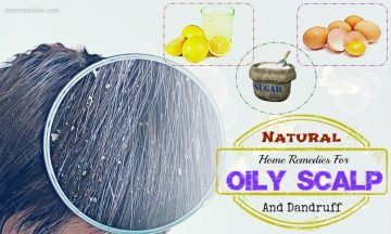 natural home remedies for oily scalp