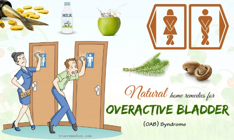 home remedies for overactive bladder syndrome