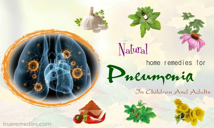 home remedies for pneumonia in adults