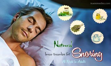 home remedies for snoring at night