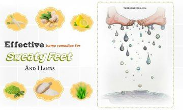 effective home remedies for sweaty feet