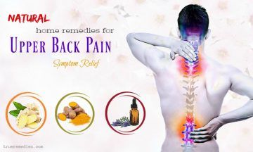 natural home remedies for upper back pain