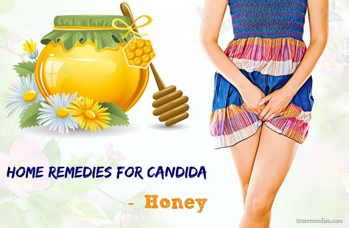 home remedies for candida - honey