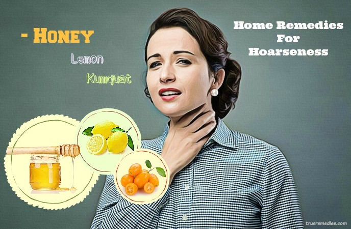 home remedies for hoarseness - honey