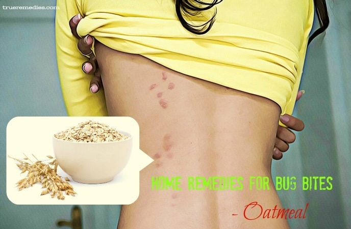 home remedies for bug bites - oatmeal