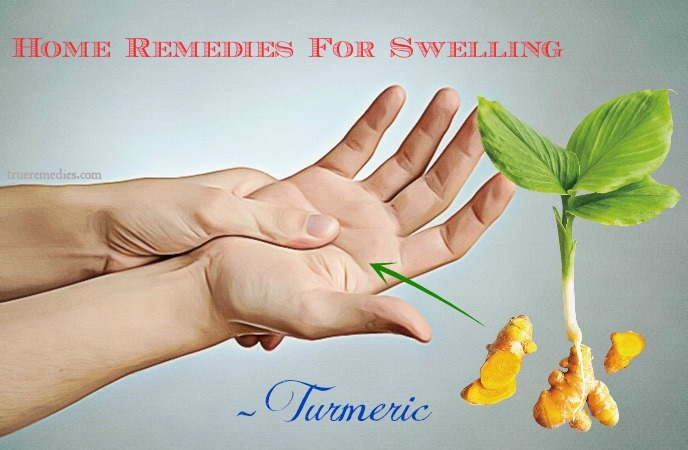 home remedies for swelling - turmeric