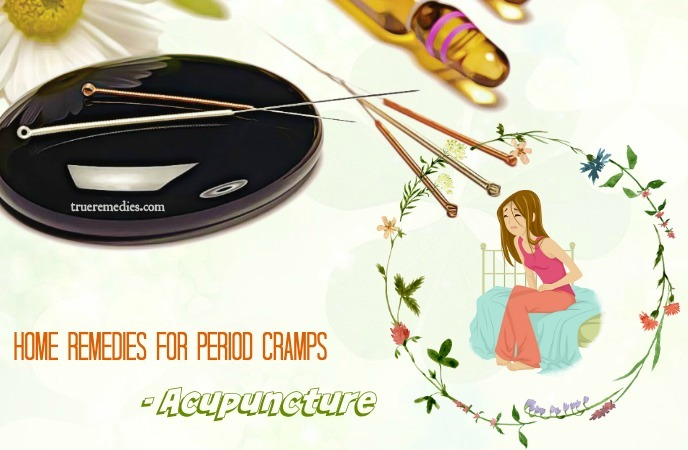 home remedies for period cramps - acupuncture