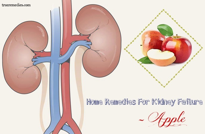 home remedies for kidney failure - apple