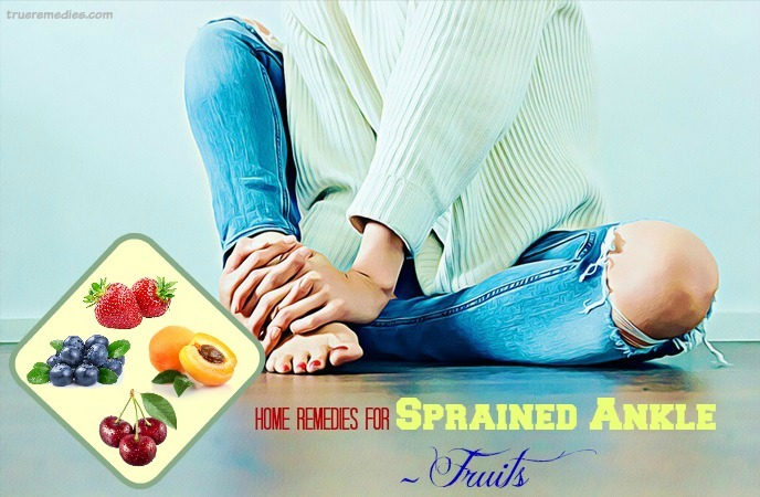 home remedies for sprained ankle - fruits