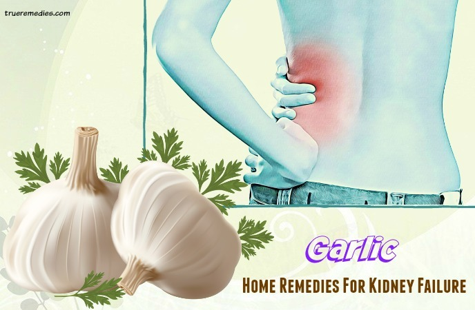 home remedies for kidney failure - garlic