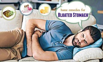 home remedies for bloated stomach pain