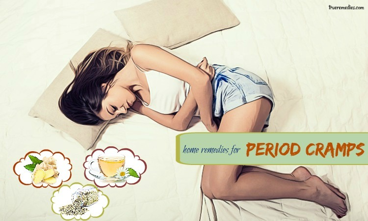 home remedies for period cramps and pain