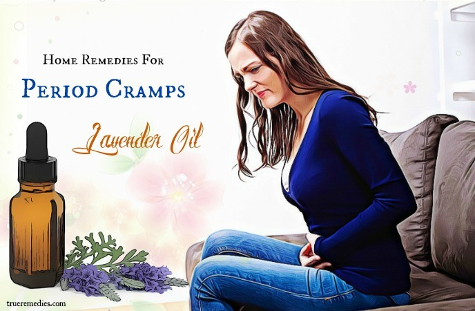 home remedies for period cramps - lavender oil