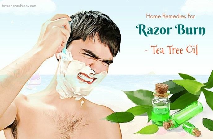 home remedies for razor burn - tea tree oil