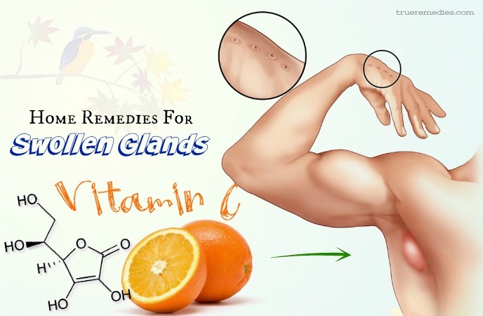 home remedies for swollen glands - vitamin c